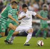 James Rodriguez of Real Madrid Stock Photo