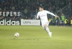 JAMES RODRIGUEZ REAL MADRID Royalty Free Stock Photography