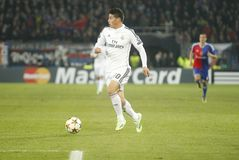 JAMES RODRIGUEZ REAL MADRID Royalty Free Stock Photo