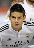 James Rodriguez von Real Madrid Stockbilder