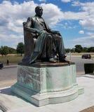 James Scott Statue at James Scott Memorial Fountain stock photo
