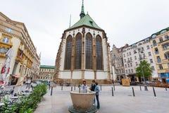 James square (Jakubske namesti) in Brno, Czech Stock Image