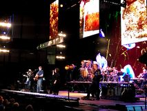 James Taylor och hans All Star musikband i den norr charlestonen, SC arkivfoto