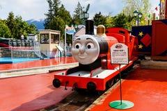 James at Thomas land theme park Royalty Free Stock Photography