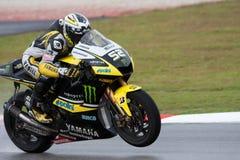 James Toseland at the Malaysian motoGP 2009 Stock Photography
