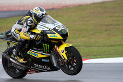 James Toseland am malaysischen motoGP 2009 stockfotografie