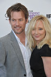 James Tupper, Anne Heche Royalty Free Stock Photos
