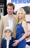 James Tupper, Homer Laffoon en Anne Heche Stock Foto's