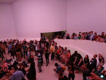 James Turrell's Aten królowanie @ Guggenheim 27 Fotografia Royalty Free