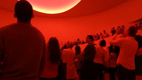 James Turrell's Aten Reign @ The Guggenheim 59 Stock Photography