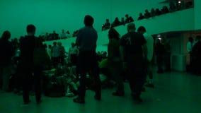 James Turrellâ €™sAten regeringstid @ Guggenheimen 62 Arkivfoto