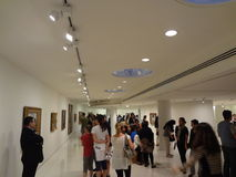 James Turrell's Aten Reign @ The Guggenheim 29 Stock Photo