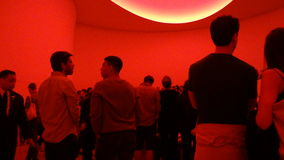 James Turrell's Aten Reign @ The Guggenheim 61 Royalty Free Stock Images