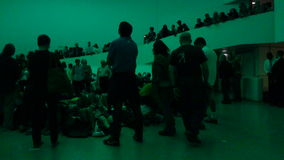 James Turrell's Aten Reign @ The Guggenheim 62 Stock Photo