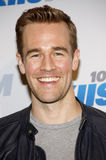 James Van Der Beek. At the KIIS FM's 2012 Jingle Ball held at the Nokia Theatre L.A. Live in Los Angeles, United States, 031212 Royalty Free Stock Photo