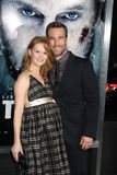 James Van Der Beek, Kimberly Brook Royalty Free Stock Photo