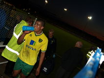James Vaughan, Norwich City Royalty Free Stock Image