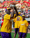 James Worthy in free-throw contest. Stock Images
