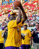 James Worthy in free-throw contest. Royalty Free Stock Images