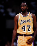 James Worthy, Los Ángeles Lakers Imagen de archivo