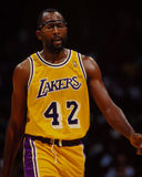 James Worthy, Los Angeles Lakers Royalty Free Stock Image