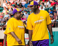 James Worthy and Roland Martin Stock Photos