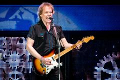 James Young of STYX in California stock photo