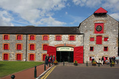 Jameson Distillery idoso, Dublin fotos de stock