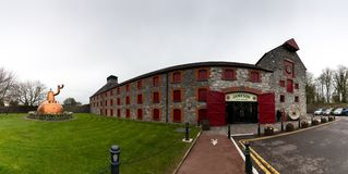 Jameson Experience, an Irish whiskey museum and visitor centre located in the Old Midleton Distillery in Midleton. April 15th, 2018, Distillers Walk, Midleton stock image