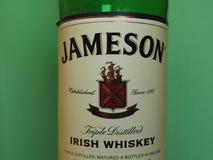 Jameson Irish Whiskey fotografia de stock