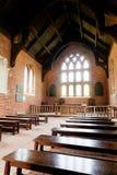 Jamestown教会-内部 免版税库存图片