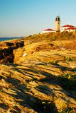 Jamestown, Beavertail Light Stock Image