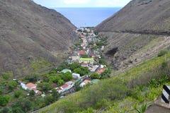 Jamestown, het eiland van St.Helena stock afbeeldingen