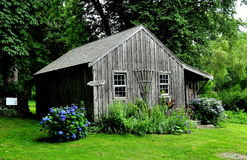 Jamestown, RI: Watson Farm Caretaker Cottage Stock Foto's