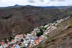Jamestown in St Helena valley royalty free stock image