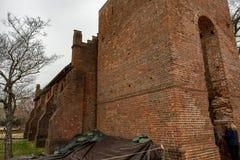 Jamestown Virginia, Marzec, - 27, 2018: Jamestown Pamiątkowy kościół który budował w 1906 Obrazy Stock