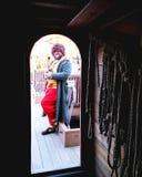 Jamestown, Virginia na Susan żeglowania Stałym statku Zdjęcia Stock