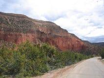 Jamez, camino de New México Fotos de archivo
