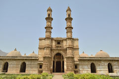 Jami Masjid (mosque), chapaner, Gujarat Stock Photography