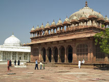 Jami Masjid Mosque - Fatehpur Sikri - India Stock Photo