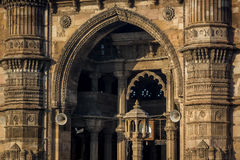 Jami Mosque. Heritage structure called Jami Mosque build in 15th century located at Ahmedabad of Gujarat state India stock images