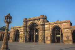 Jami Mosque. Heritage structure called Jami Mosque build in 15th century located at Ahmedabad of Gujarat state India royalty free stock photos