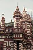The Jami Ul Alfar Mosque in Colombo Stock Photo