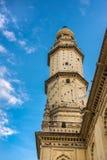 Jamia Masjid清真寺,迈索尔,印度尖塔  免版税库存图片