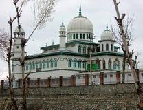 Jamia Masjid Awantipura, Kashmir, Indien Arkivfoton