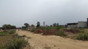 Jamia Mosque grande, Lahore Fotografia de Stock