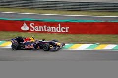 Jamie Alguersuari van Toro Rosso stock afbeeldingen