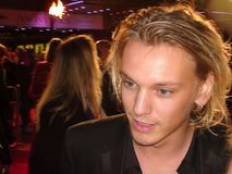 Jamie Campbell Bower. Jamie cambell bower at the premiere of a movie in london during the london film festival 2011 Royalty Free Stock Photography