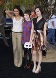Jamie Chung, Emily Browning en Jena Malone Royalty-vrije Stock Afbeelding