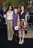 Jamie Chung, Emily Browning en Jena Malone Stock Afbeeldingen